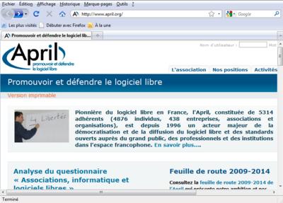 Capture Dcran De Mozilla Firefox
